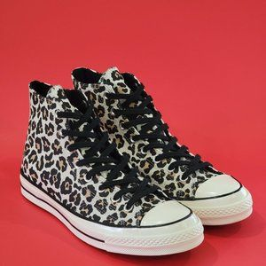 Converse Chuck 70 High Unisex Leopard Sneaker NWT